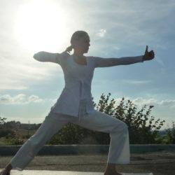 Yogalehrerin und Yogalehrerausbilderin Astrid Ewers in Werther bei Bielefeld
